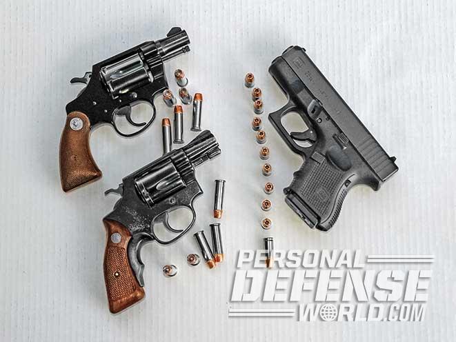 semi-autos and revolvers