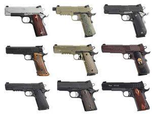 sig sauer 1911 pistols