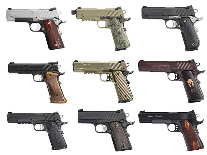 Sig Sauer 1911: 9 Versions Of John Browning's Classic Design