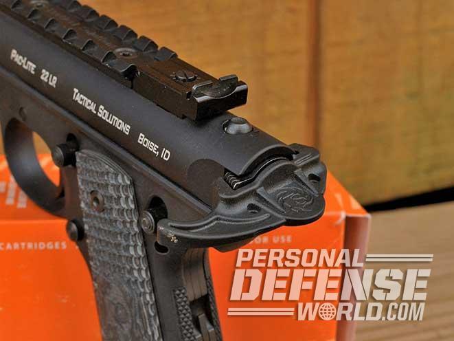 Tactical Solutions Pac-Lite rimfire pistol