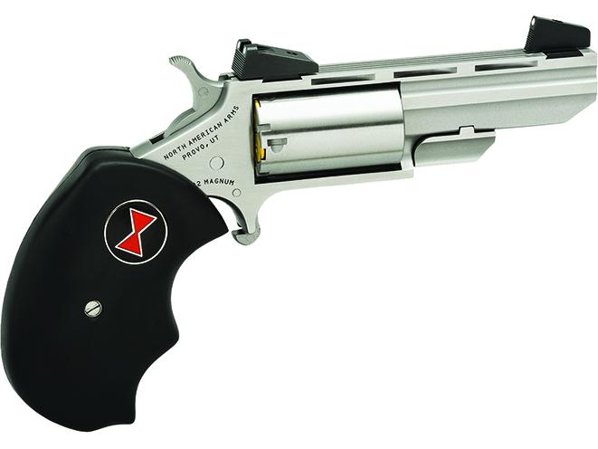 NAA Black Widow pocket pistols