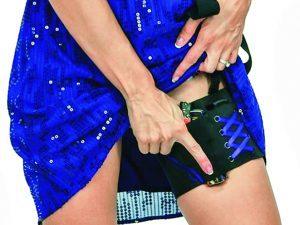 deep concealment garter holster