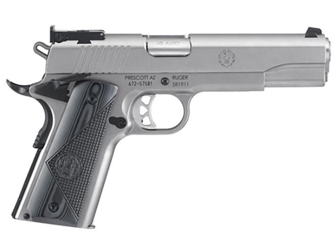 ruger's new SR1911 target pistol