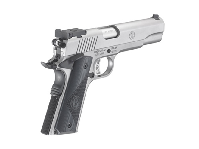 the new ruger SR1911 target handgun