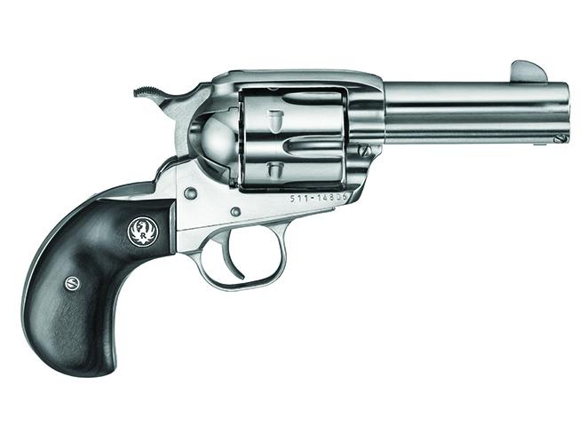 short-barreled revolvers Ruger New Vaquero Birdshead