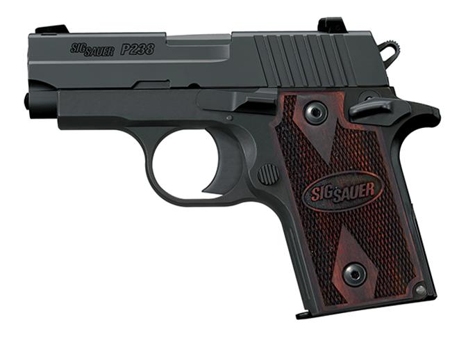 Sig Sauer P238 pocket pistols
