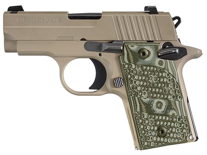 sig sauer pocket pistols