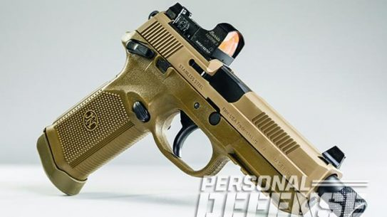 The FNX-45 Tactical pistol