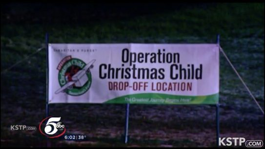 operation christmas child shooting