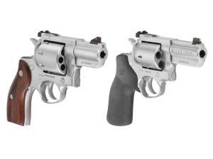 ruger's new gp100 and redhawk revolvers