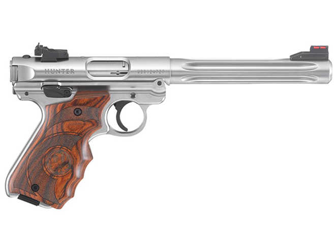 ruger Mark IV rimfire pistols