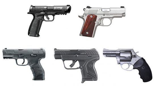 top five new guns from 2016