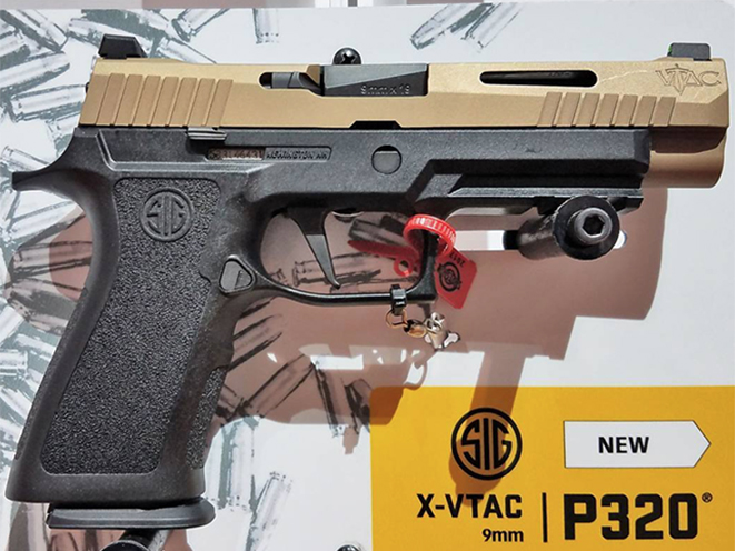 Sig Sauer's New P320 X-Series Introduced for 2017