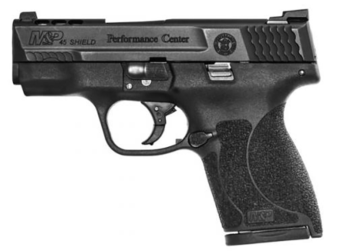 smith & wesson performance center Ported M&P45 Shield Tritium Night Sights