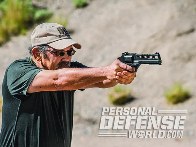 Chiappa Rhino gun test