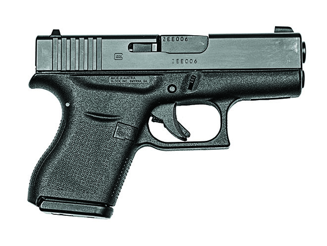 glock 43 pocket pistols