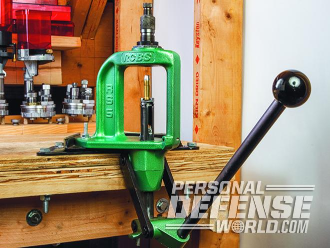 reloading with a single stage press