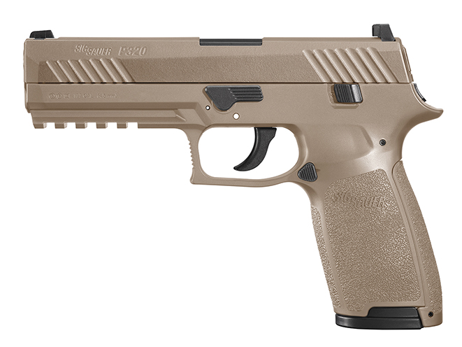 Sig Sauer P320 ASP air pistol