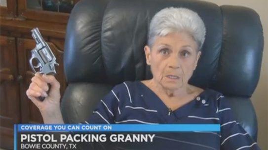 texas grandmother shoots armed intruder