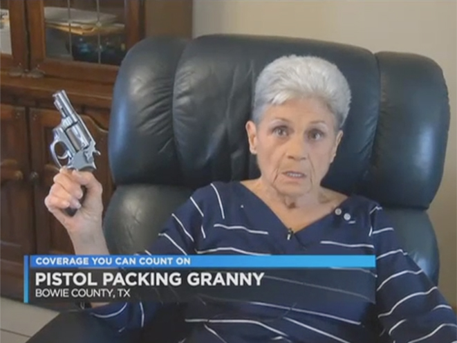 texas grandmother shoots armed intruder