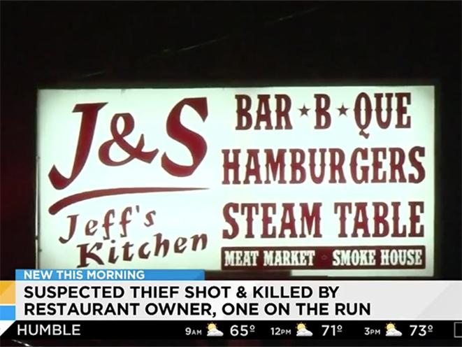 houston restaurant owner shoots armed robber
