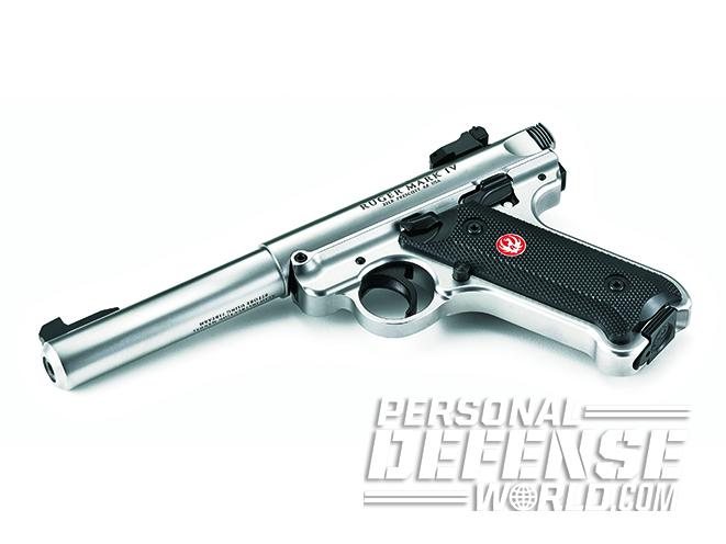 ruger mark iv hunter vs mark iv target