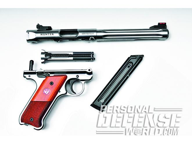 Ruger Mark IV Hunter disassembly