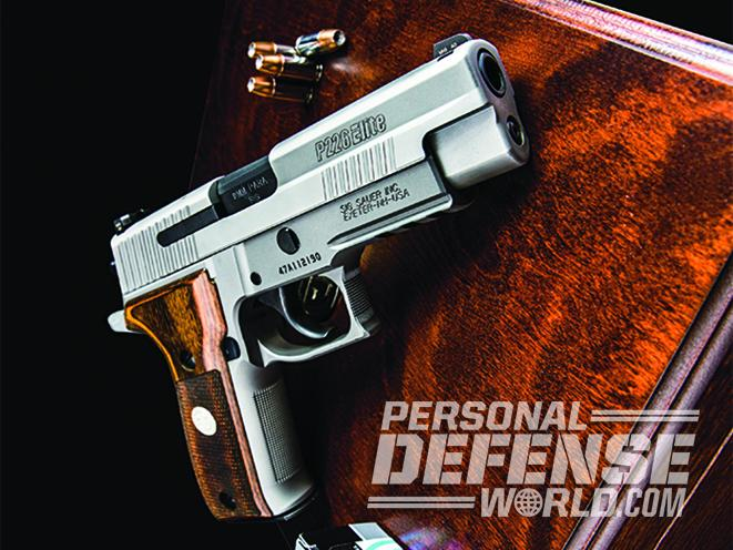 Ace In The Hole Testing The Sig Sauer P226 Ase