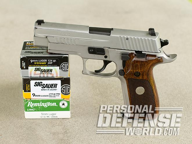 P226 ASE gun test