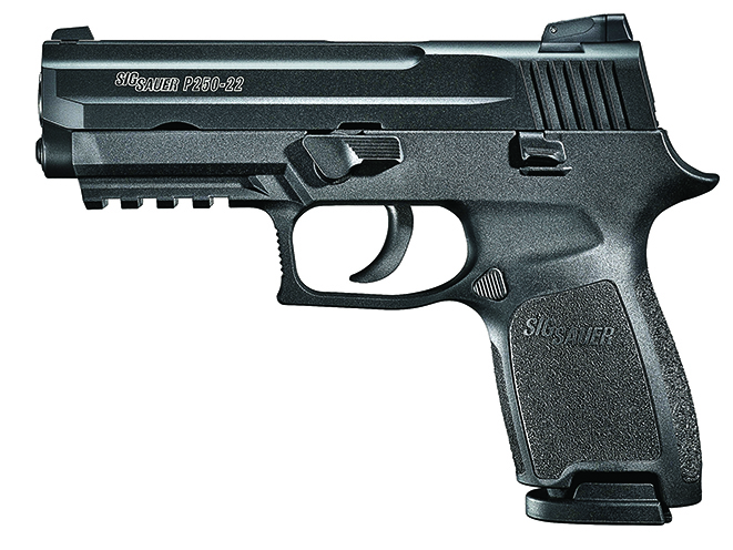 sig safer p250 full-sized handguns