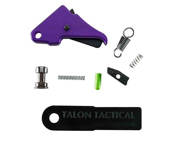 apex tactical Purple Anodized Triggers