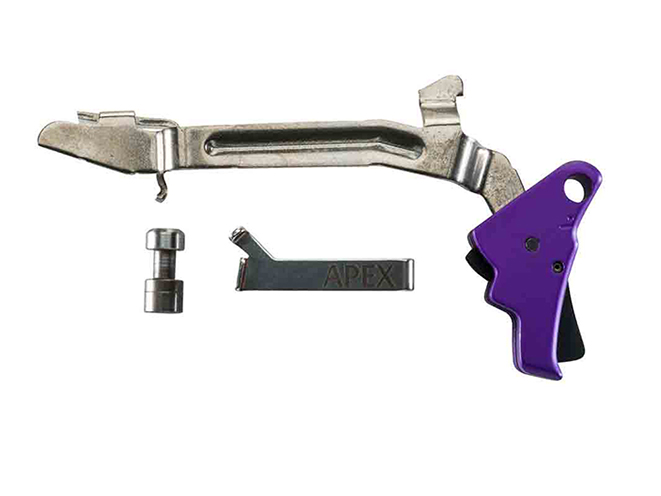 apex tactical specialties Purple Anodized Triggers