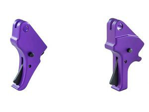 apex Purple Anodized Triggers