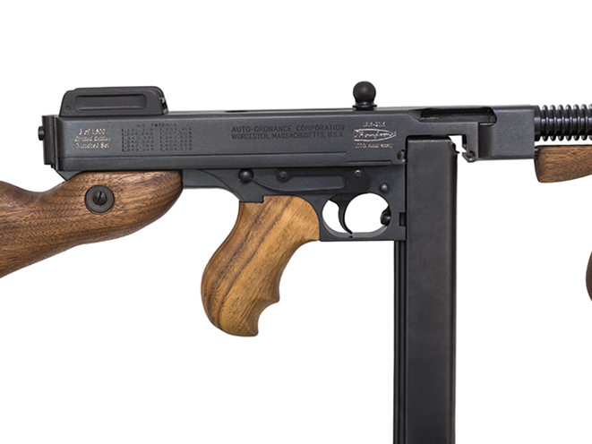 dfb46a03a9580 Thompson Turns 100  Auto-Ordnance s 100th Anniversary Thompson 1927A ...
