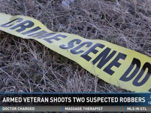 vietnam veteran shoots armed robbers