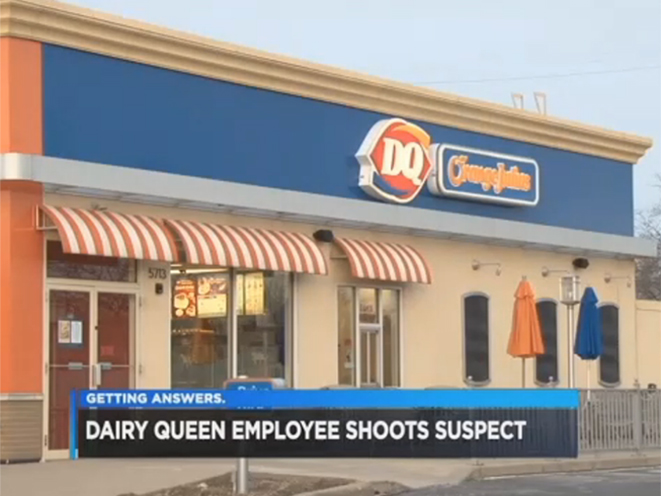 ohio dairy queen armed robbery