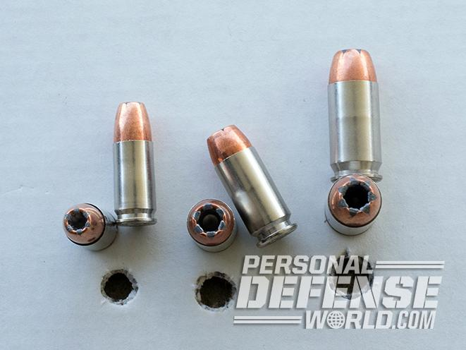 Ammunition penetration switch 9mm