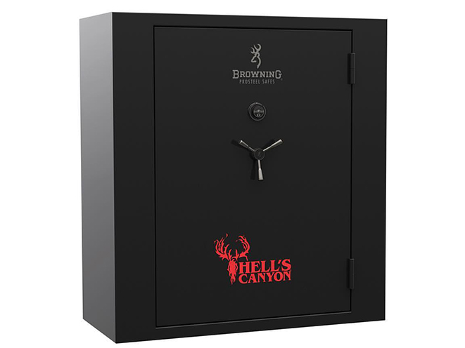 browning hell's canyon extra wide gun safe