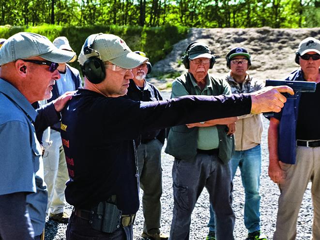 Dave Spaulding advanced combative pistol