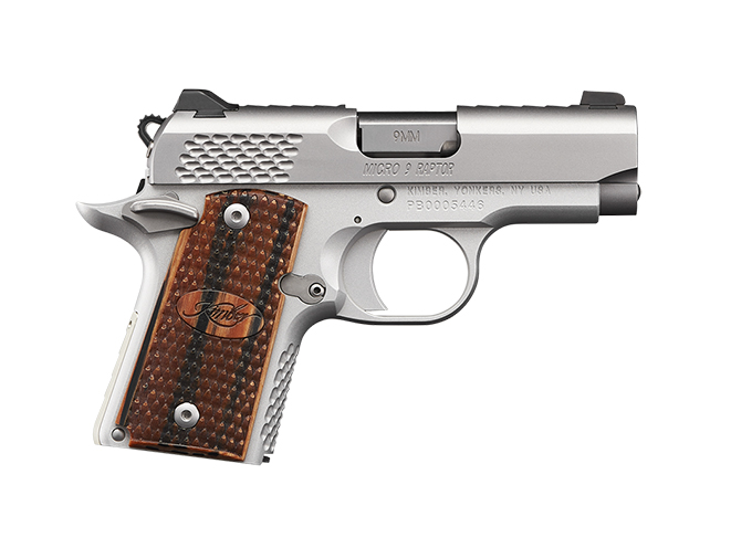 kimber micro shot show 2017 handguns