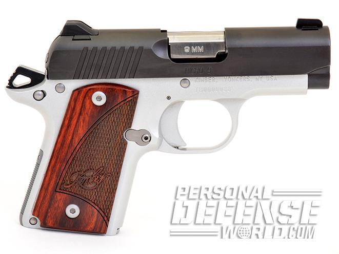 Kimber Micro 9 handgun