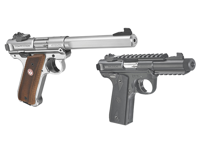 new ruger mark iv pistols