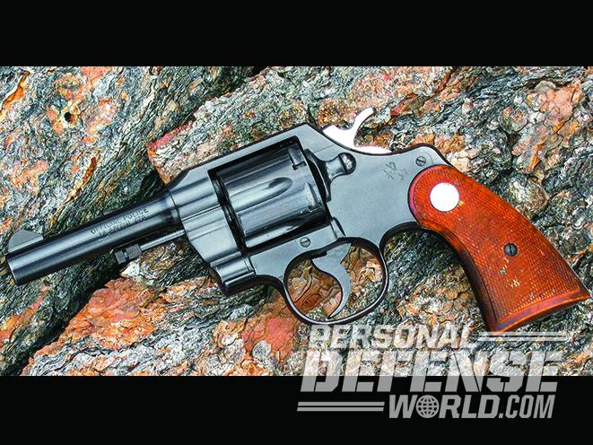 colt official police revolver