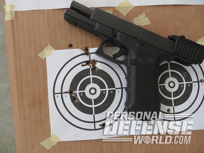 glock target
