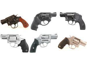 snub-nose revolvers