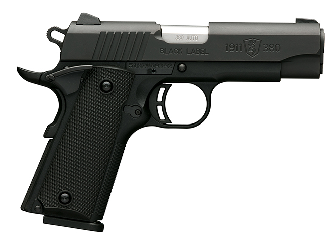 Black Label 1911-380 compact