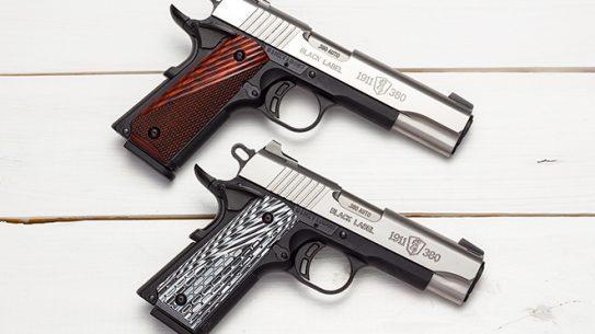 Black Label 1911-380 handgun