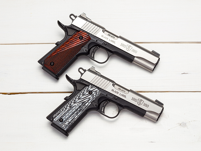 Black Label 1911-380 handgun