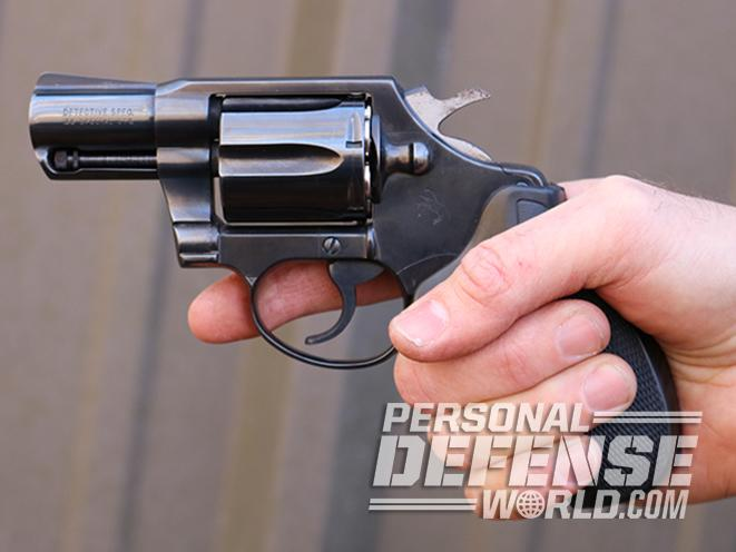 Colt Detective Special gunfire