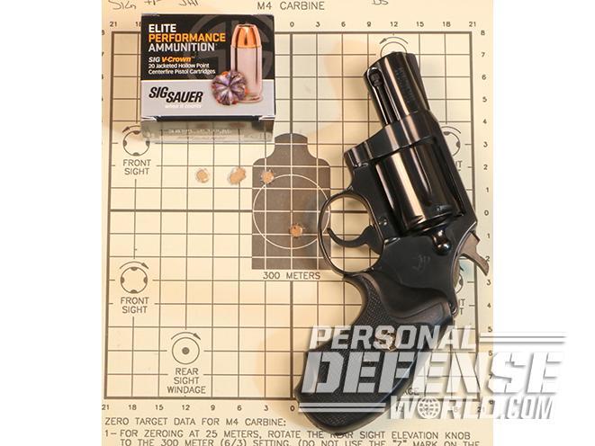 Colt Detective Special gun test